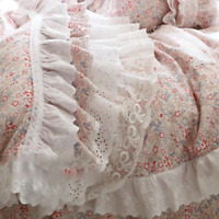 Luxury Bedding Set Ruffle Laced Duvet Cover Euro Bed Sets Bedding Bedding Set