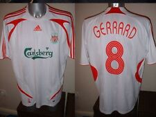 Liverpool GERRARD Adult M Adidas Top Shirt Jersey Soccer Football LA Galaxy W