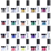 Set Cosmetics Loose Powder Glitter Eye Shadow Lipstick Lip Gloss +Fix Gel Glue
