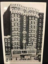 Vintage Postcard Hotel Peerless West 45th Street New York Times Square Broadway