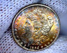Original Roll 1884-P Morgan Silver Dollar with Beautiful Natural Toning