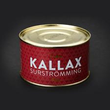 Kallax Surströmming Fillets/Fermented Herring Swedish 440g 15.5oz /Surstromming