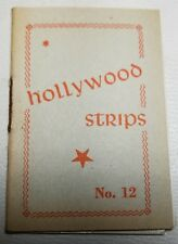 Hollywood Strips Booklet No. 12 Netherlands Maple Leaf Bubble Gum Premium