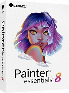 Corel Painter Essentials 8 Beginner Digital Painting Software PC/Mac SEALED BOX