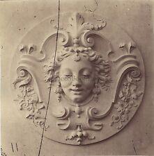 Ornement d'Architecture Décoration Photo Louis Émile Durandelle Vintage 1874