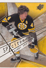2008 08-09 SPx Spxcitement Spectrum #X6 Bobby Orr 65/99 Boston Bruins
