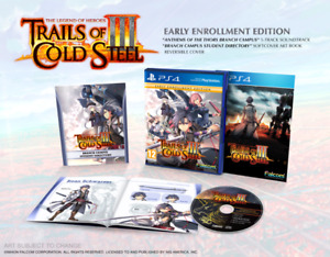 The Legend of Heroes: Trails of Cold Steel III (Early Enrolment Edition) PS4