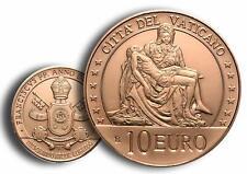 Vatikan 10 Euro 2020 Kunst und Glaube - Pieta von Michelangelo Kupfermünze