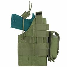 NEW Condor H-1911 Tactical MOLLE Ambidextrous Pistol Holster& Mag Pouch OD Green