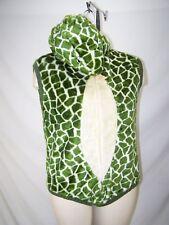 Womens Adult Snake Costume Furry Hooded Plush Halloween Size Medium 8 10