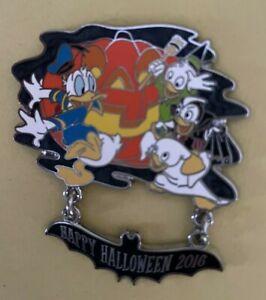Disney Pin DVC Happy Halloween 2016 Donald Huey Dewey & Louie Limited Edition