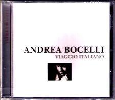 Andrea BOCELLI: VIAGGIO ITALIANO Nessun Dorma O Sole Mio Ave Maria FEDOSEYEV CD