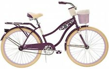 Huffy Baypointe Women's Deluxe 26 Inch Cruiser Bike Adult Bicycle Beach Ride