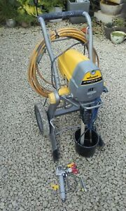 Used wagner airless paint sprayer project pro 119