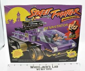 Devastator #84002 MIB Street Fighter 1994 Hasbro Toy Vintage Action Figure