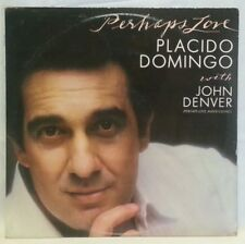 PLACIDO DOMINGO with JOHN DENVER - vintage vinyl LP - PerhapsLove - lyrics
