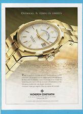 BELLEU998-PUBBLICITA'/ADVERTISING-1998- VACHERON CONSTANTIN OVERSEAS