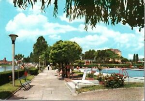 @1 Cartolina-postcard Lodi Canottieri Adda 1968