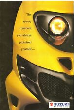 Suzuki AY50 AY50WR Katana AP50 TR50S Street Magic GB Sales Flyer 1998