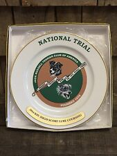 Jack Russell Terrier Club Of America National Trial Ceramic Award Trophy Plate