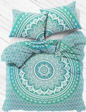 Indian Mandala Comforter Bed-skirt Duvet Cover Bright Cotton Winter Special Set
