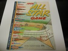 1951 MLB BASEBALL ALL STAR GAME PROGRAM GOOD CONDITION BRIGGS STADIUM DETROIT