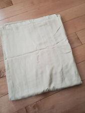 Charter Club Damask Stripe Pima Cotton Twin Duvet Cover Tan Natural Brown