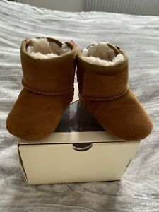 Ugg Baby Girls Booties, Age 6-12 Months
