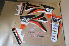FX 22 GRAPHICS KTM SX SXF 150 250 350 450  2011  2012 &  2012  2013 EXC XCW XCWF