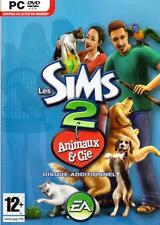 JEU PC CD ROM../...LES SIMS 2 ....ANIMAUX & Cie.../...DISQUE ADDITIONNEL