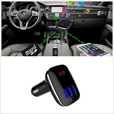 NEW Bluetooth Car FM Transmitter Wireless Radio Adapter USB Charger Mp3 Player