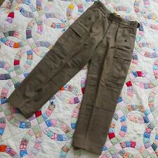 Vintage Wilh. Schwarz Huckelhoven Wool Pants Excellent Condition 30�-32�