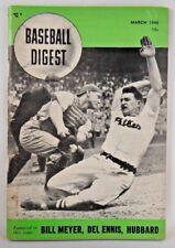 1948 Baseball Digest Magazine Del Ennis Bruce Edwards Ump Lou Jorda Cover