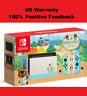 🔥Nintendo Switch Animal Crossing New Horizons Edition 32GB Console🔥Fedex 2Day