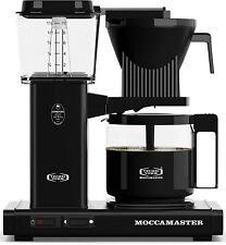 Moccamaster KBG 741 10-Cup Coffee Brewer with Glass Carafe Black