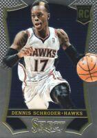 2013-14 Select Basketball #164 Dennis Schroder RC Atlanta Hawks