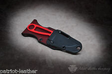 Esee Izula 'The Freedom' Custom Build Vertical Leather Sheath Backer