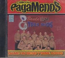Banda Tres Rios Dame Un Beso y Dime Adios New Nuevo sealed