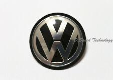 45mm Black Chrome Steering Wheel Badge Emblem for VW GOLF MK 5 6 V VI