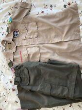 Scout Uniform Set Shirt & Pant Youth Medium