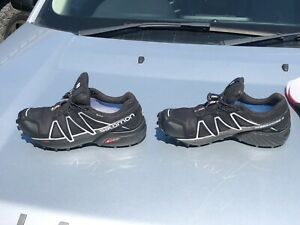 Salomon Speedcross 4 Mens Black Size 10.5 Barely Used Trail Running