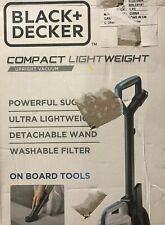 BLACK+DECKER Lightweight Compact Upright Vacuum