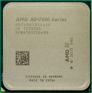 AMD A8-7600 3.1GHz Quad Core 65W Socket FM2+ CPU Processor