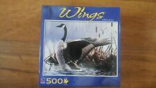 Jigsaw Puzzle 500 Piece Sure-lox Canada Goose Wings Wilhelm Gobel New(2008)
