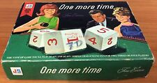 Vintage 1967 Board Game - One More Time - Fine Edition