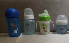 Preloved Avent bottles, sippy cup and straw cup free shipping