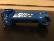 Profile Designs Stiffy Bicycle Stem Blue 125mm Steel NOS