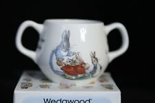 Wedgwood Peter Rabbit Four Little Rabbits 2-Handled Mug NIB
