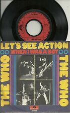 The WHO - Let´s see Action (1971)  GERMANY 7""