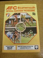 27/03/1989 Bournemouth v Leicester City  . Thanks for viewing this item, buy in